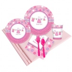 Birthday Express Baby Shower Girl Shower With Love Party Pack (8)
