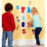 Daniel Tiger's Neighborhood - Silhouette Matching Game: Multi-colored, Birthday