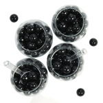 BuySeasons Black Gumball Candy Pack