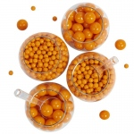 BuySeasons Orange Sixlet & Gumball Candy Pack