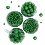 BuySeasons Green Sixlet & Gumball Candy Pack