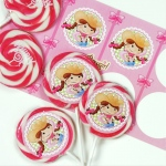 Birthday Express Pink Cowgirl Deluxe Lollipop Favor Kit Pink