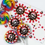 Birthday Express Pirates Lollipop Favor Kit