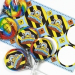 Birthday Express Construction Pals Lollipop Favor Kit