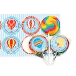 Birthday Express Hot Air Balloon Party Lollipop Favor Kit