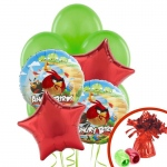 Birthday Express Angry Birds Balloon Bouquet
