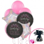 Birthday Express Birthday Girl Sweets Balloon Bouquet