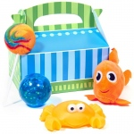 Dolphin Party Filled Favor Box (4): Birthday