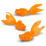 3 Plastic Goldfish (12): Birthday