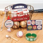 Baseball Time Favor Box (4): Birthday
