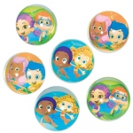 Bubble Guppies Bounce Balls (6): Birthday