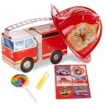 BuySeasons Little Fireman Filled Party Favor Box