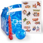 BuySeasons Power Rangers Dino Charge Filled Party Favor Box