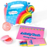 Rainbow Birthday Filled Party Favor Box (4): Birthday