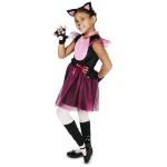 Black & Pink Cat Child Costume - Small (4-6)
