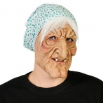 Evil Granny Adult Mask: One-Size, Everyday, Adult