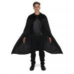 Dream Weavers Costumers Black Velvet Adult Cape One Size One-Size