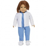 "Doctor Child 18"" Doll Costume: 18"" Doll, Everyday, Child"