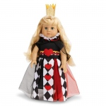 "Queen of Hearts 18"" Doll Costume: 18"" Doll, Everyday, Child"