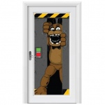 BuySeasons Five Nights at Freddy's Door Cover