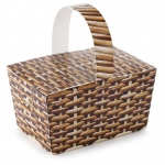 Basket Empty Favor Boxes (8): Birthday