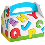 Birthday Express Alphabet Empty Favor Boxes
