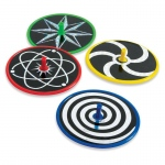 "BuySeasons 3"" Laser Disc Spin Tops Assorted"