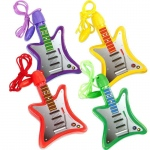 BuySeasons Bubble Guitar Necklaces Assorted
