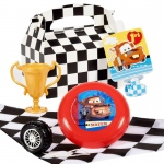 BuySeasons Disney 1st Birthday Cars Filled Party Favor Box