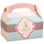Ballerina Tutu Empty Favor Boxes (8): Birthday