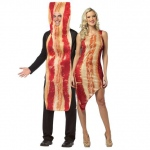 BuySeasons Bacon Couples Costume For Adults