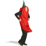 Chili Pepper Adult Costume: L/XL, Everyday, Unisex, Adult