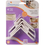 Dreambaby® Angle Locks: White, Pack of 4