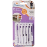 Dreambaby® Safety Catches: White, Pack of 12