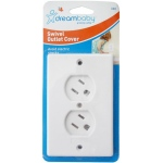 Dreambaby® Swivel Outlet Cover: White