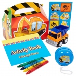 BuySeasons Construction Pals Party Favor Box