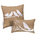 BuySeasons Beautiful Birds Pillows (Set of 2)