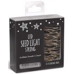 BuySeasons Modern Garden Seed Light String with Remote (10' Long)