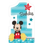 Amscan Disney Mickey Mouse 1st Birthday Invites (8)