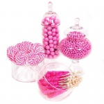 BuySeasons Pink Candy Buffet - Large