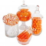BuySeasons Orange Candy Buffet
