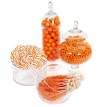 BuySeasons Orange Candy Buffet - Large