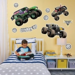 BuySeasons Monster Jam Large Wall Decal
