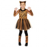 Cool Cat Tigeress Girl Child Costume - Small (4-6)