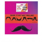 Rubie's Costumes Moustache Six Way (Black) One Size
