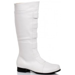 Men's White Boot: White, Small, Everyday, Male, Adult
