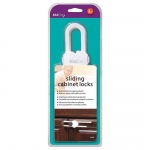 Kidco Sliding Cabinet and Drawer Lock 2 pack White