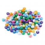 Hygloss ABC Beads & Charms: 80 Beads