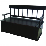 Wildkin Levels of Discovery Espresso Bench Seat w/ Storage