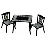 Wildkin Levels of Discovery Wild Side Table & 2 Chair Set